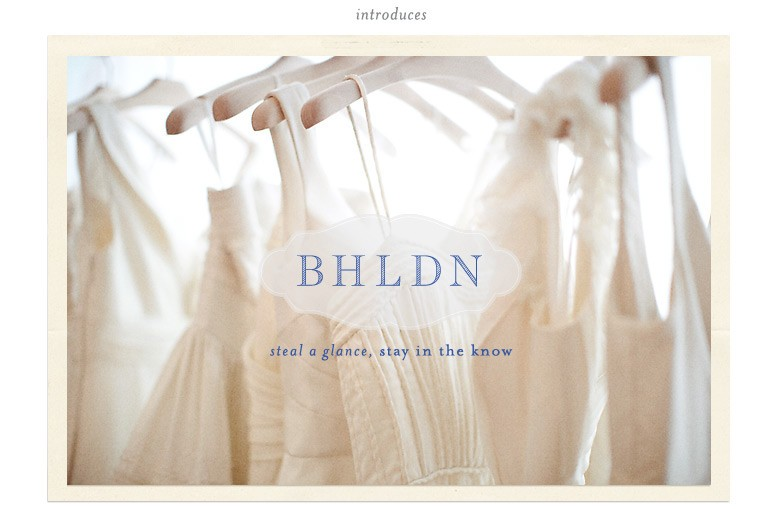 anthro bridal line